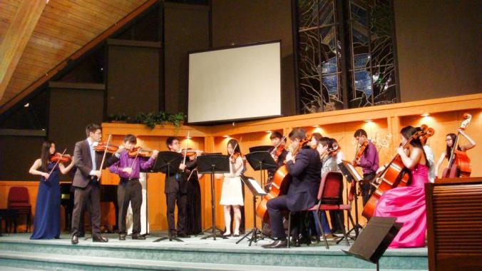2014 Side-by-Side Project with CMB's Young Artists from Saratoga and Lynbrook High Schools!